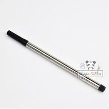 8PCS/LOT screw pen refills Metal refill gel writes good metal ball gift for dear teacher