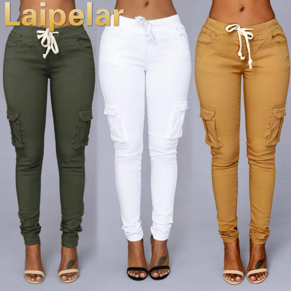2018 Candy Colors Elastic Sexy Skinny Pencil Jeans For Women Leggings Jeans Woman High Waist Women's Thin-Section Denim Pants Jeans Women Bottom ! Plus Size Women's Clothing & Accessories