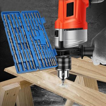 цена на 20pcs Countersink Drill Bits 1 Box Rotary Electric Hammer Drill Bit Set Grooving Tools Concrete Drilling Bit Drill Bits for