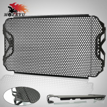 купить For YAMAHA MT09 FZ09 Tracer 2013-2018 CNC Motorcycle Radiator Guard Cover Grille MT-09 MT FZ 09 2013 2014 2015 2016 2017 2018 по цене 3167.91 рублей