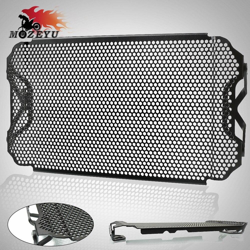 Pour YAMAHA MT09 FZ09 Traceur 2013-2018 CNC Moto Radiateur Garde Couverture Calandre MT-09 MT FZ 09 2013 2014 2015 2016 2017 2018