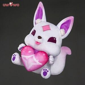 Image 4 - UWOWO Game Cosplay Accessory LOL Soraka Ahri Syndra  Doll Game LOL Cute Cosplay Accessories  Star Guardian Ahri Soraka Syndra