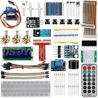 Raspberry Pi 3 Starter Kit Ultimate Learning Suite HC SR501 Motion Sensor 1602 LCD SG90 Servo LED Relay Resistors