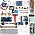 Raspberry Pi 3 Starter Kit <font><b>Ultimate</b></font> обучения вождению, HC-SR501 движения Сенсор 1602 ЖК-дисплей SG90 Servo светодиодный реле резисторы для поверхностного монтажа