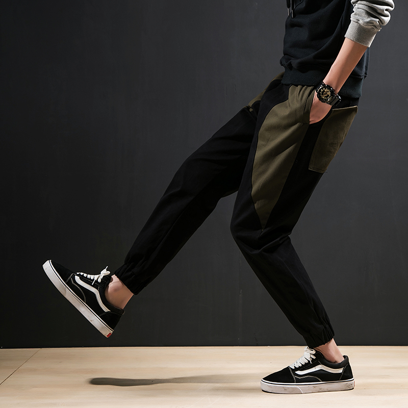 2018 Casual trousers for spring fashion pants young han version of trousers mens trousers mens pants Free shipping