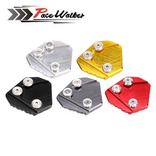 5 Colors Motorbike Kickstand Side Stand Enlarger Foot Side Stand Extension Plate Pad For HONDA MSX 125 NEW