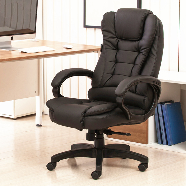 Simple Modern Soft Multifunctional Boss Chair Leisure Lying Staff Manager Office  Chair Lifting Swivel Computer Gaming
