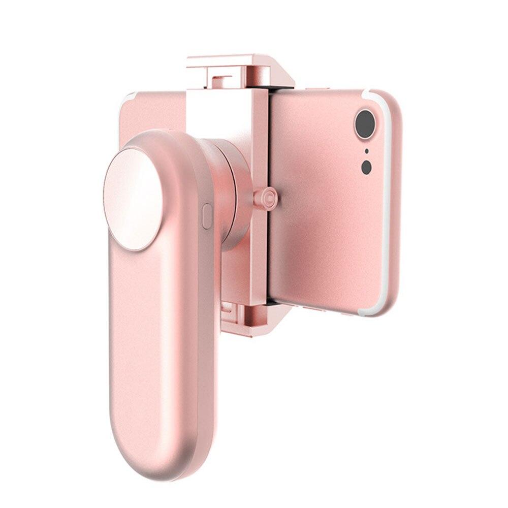 лучшая цена Cewaal USB Metal Shock Absorber Single Axis Stabilizer Shooting Handheld Gimbal Cute Video Mobile Phone Stabilizer