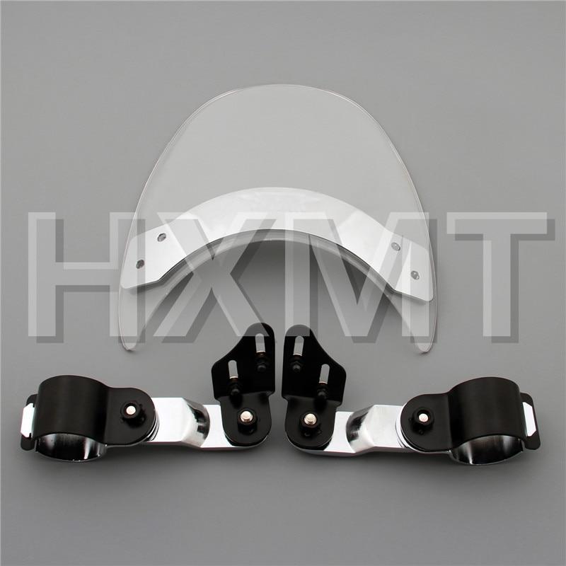 Para Harley Davidson Sportster 883R 883 900 1000 1100 1200 XL XLH XLX XR moto parabrisas
