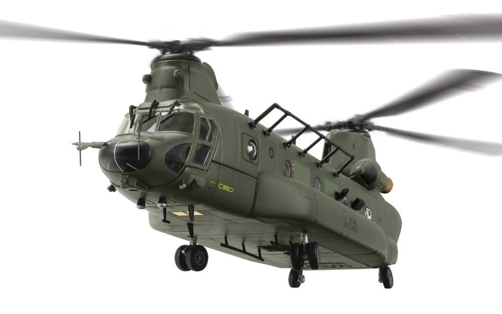 new rare Fine Corgi 1/72 British CH-47 Chinook heavy duty helicopter ZH904 AA34213 Collection model Holiday gifts av72 1 72 the british ah 1 gulf war av7224005 gazelle helicopter alloy collection model holiday gift