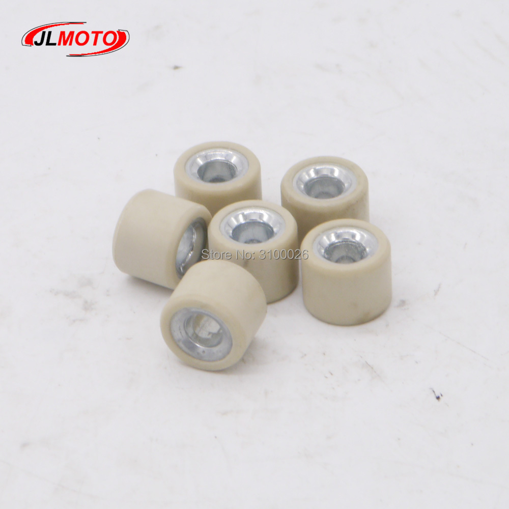 Apprehensive 1set/6pcs14g Clutch Variator Roller Driver Pulley Fit For 125cc 150cc 200cc Cvt Engine Clutch Scooter Buggy Atv Utv Go Kart Part Atv Parts & Accessories
