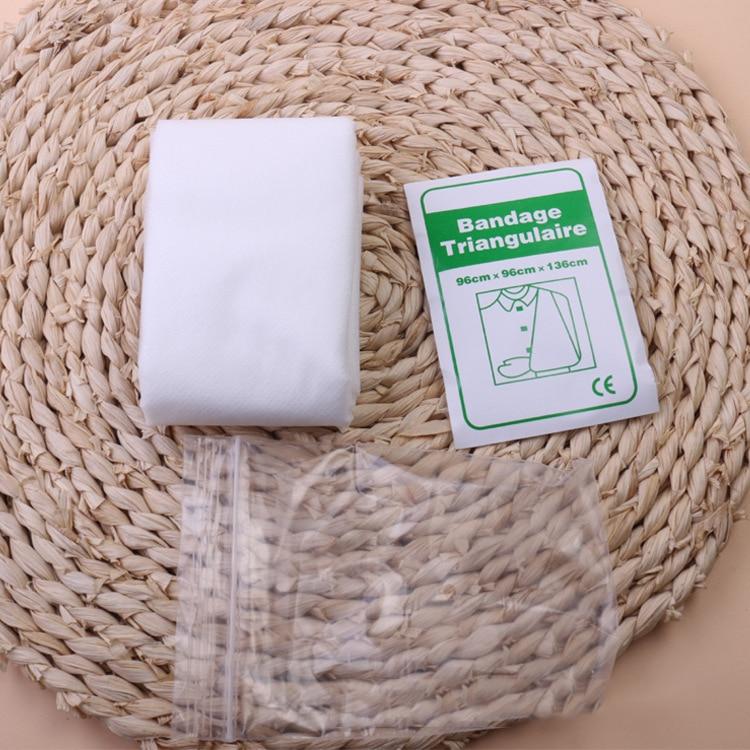 New Bandage Medical Burn Dressing Bandage Triangular First Aid Kit Wrap Bandage Fracture Fixation Emergency Bandage Wound Care