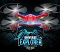 F181 DFD RC Quadcopter Drone com Câmera HD Pro com opcional Brinquedos Aviões de Controle Remoto da câmera 5.0MP Uma Chave Auto Retorno FSWB