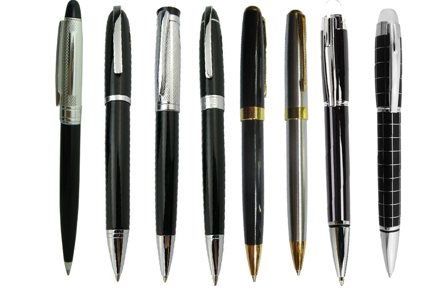 Ballpoint  pen standard signture pen office and school  stationery wholesale 24pcs/lot Free Shipping