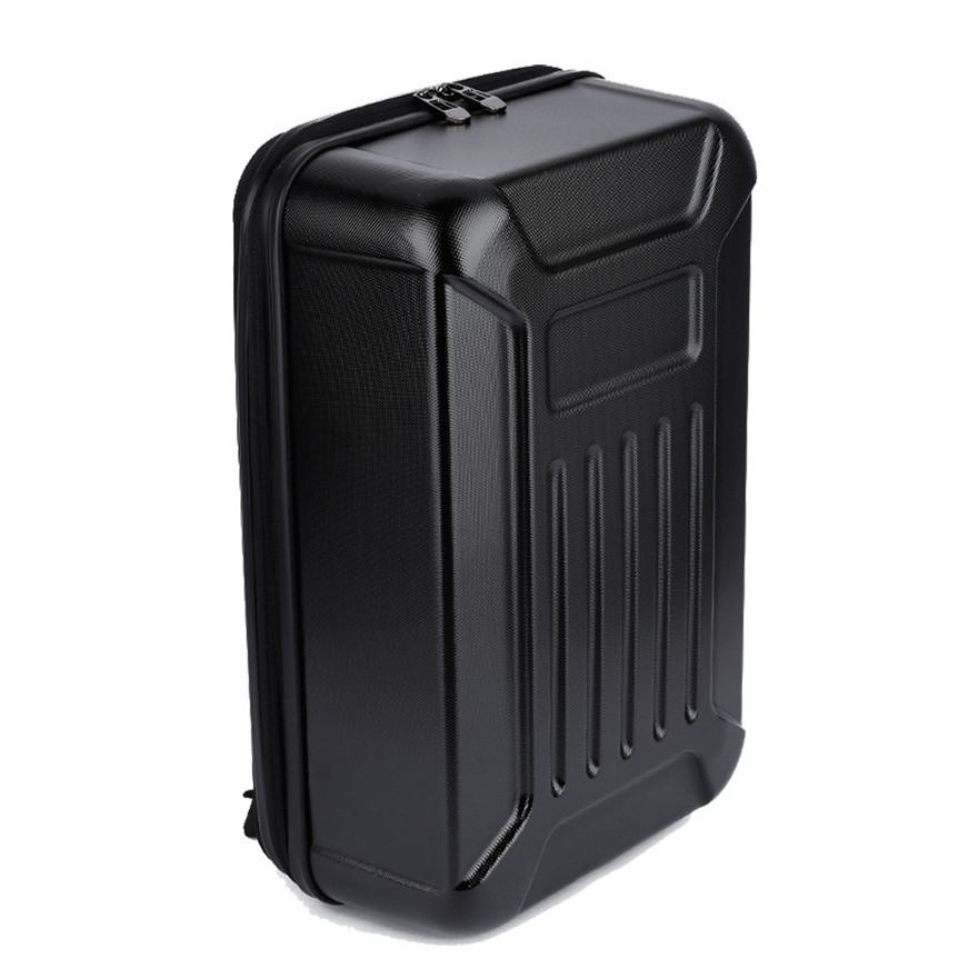 High Quality Black ABS Hard Shell Backpack Case Bag for Hubsan X4 H501S Quadcopter Toys Wholesale Free Shipping rubberized hard shell case w ribbed design holster