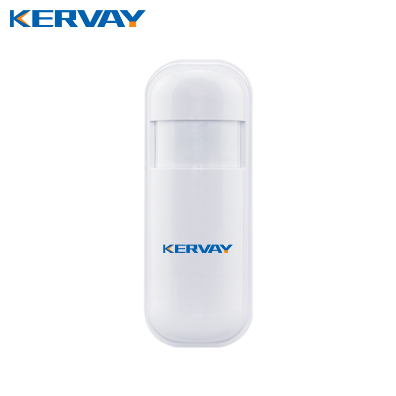 Kervay 433mhz wireless PIR Motion Interlligent security Sensor Infrared Detector for WIFI 3G GSM Smart Home alarm system wireless vibration break breakage glass sensor detector 433mhz for alarm system