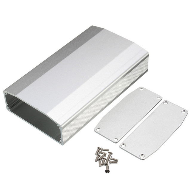 aluminum case box for circuit board electrical connector diy shellaluminum case box for circuit board electrical connector diy shell shied enclosure for electronic projecter power supply units