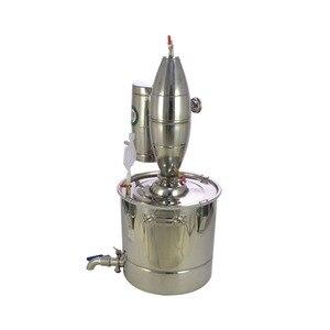 Image 5 - 30Lステンレス鋼ワイン作りボイラーホーム醸造キットアルコール蒸留器