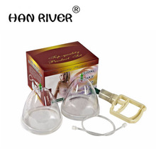 Healthy Breast Enlargement pump for lady Vacuum Cupping Body Massager chest Enhancement Cupping with suction pump therapy Size L