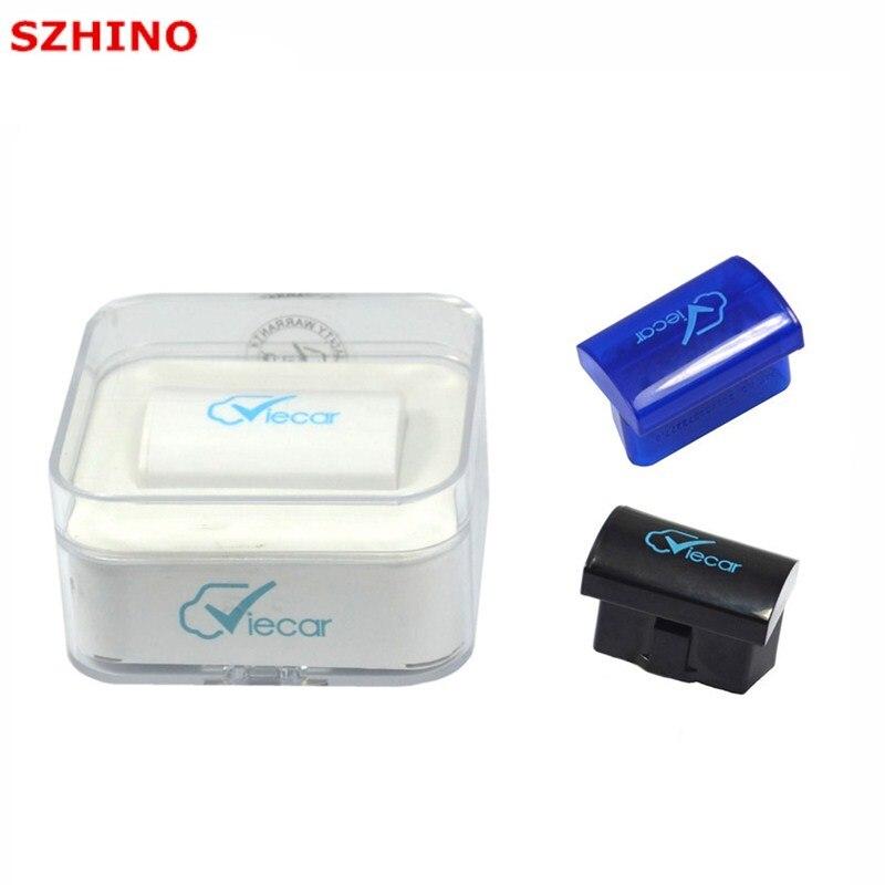 Neu kommen viecar 2,0 elm327 super mini Bluetooth ulme 327 OBD II auto codeleser-scanner Geben verschiffen Frei