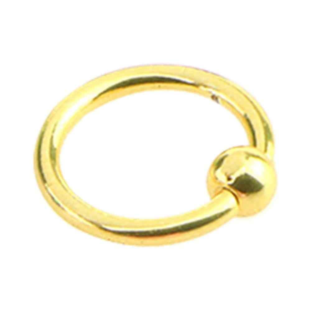 สแตนเลสสตีลคิ้วริมฝีปากบาร์หัวนม Septum จมูกแหวน Body Piercing เครื่องประดับสำหรับผู้หญิง