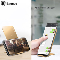 Baseus Wireless Charging For Samsung Galaxy S7 S6 Edge S8 QI Wireless Charger For IPhone X