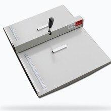 Офисный бумажный кризер, биговальная машина для бумажных фото карт 460 мм ручной зачетный станок 18''