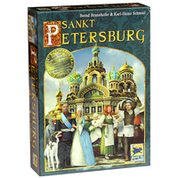 Saint Petersburg Board Game Cards Game 2 5 Players Family toys Game For Children With Parents indoor games