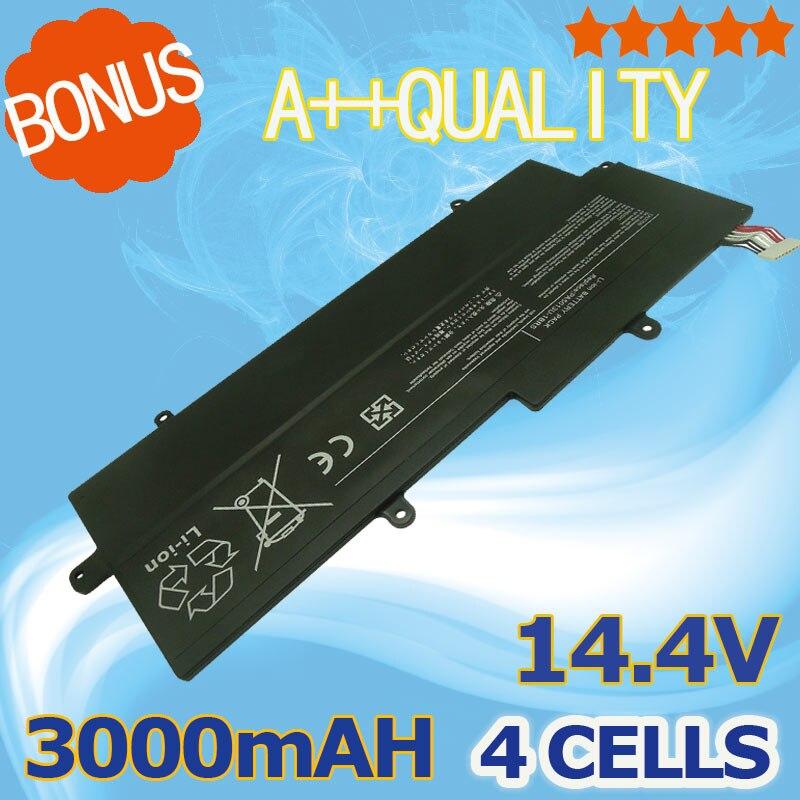14.4 v 3000 mah PA5013U-1BRS PA5013U Batterie D'ordinateur Portable pour Toshiba Portege Z830 Z835 Z930 Z935 Ultrabook Série