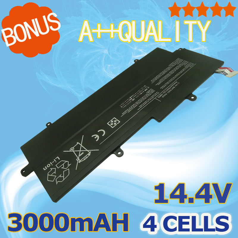 14.4v 3000mah PA5013U-1BRS PA5013U Laptop Battery for Toshiba Portege Z830 Z835 Z930 Z935 Ultrabook Series 14 8v 47wh original laptop battery for toshiba z830 z835 z930 z935 pa5013u 1brs