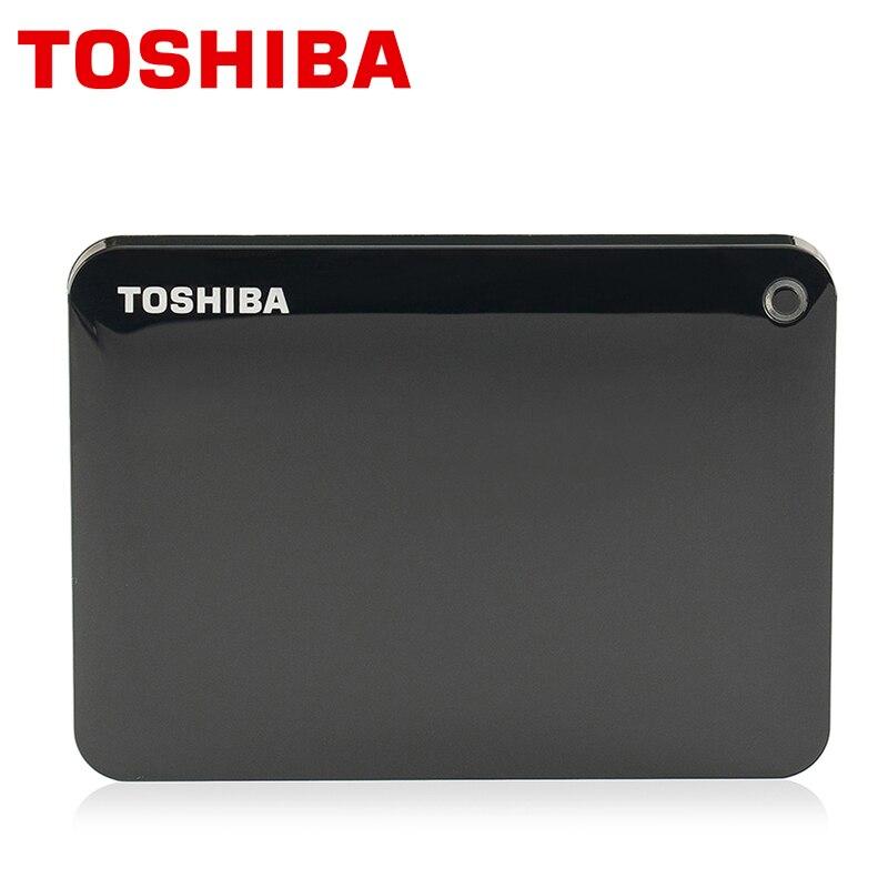 """東芝ギガバイト 2 テラバイト外部ハードドライブディスク 1000 HD 1000 ギガバイト HDD ポータブル CANVIO V8 USB 3.0 SATA3 2.5 """"スリム 100% オリジナル新  グループ上の パソコン & オフィス からの 外部HDD の中 1"""