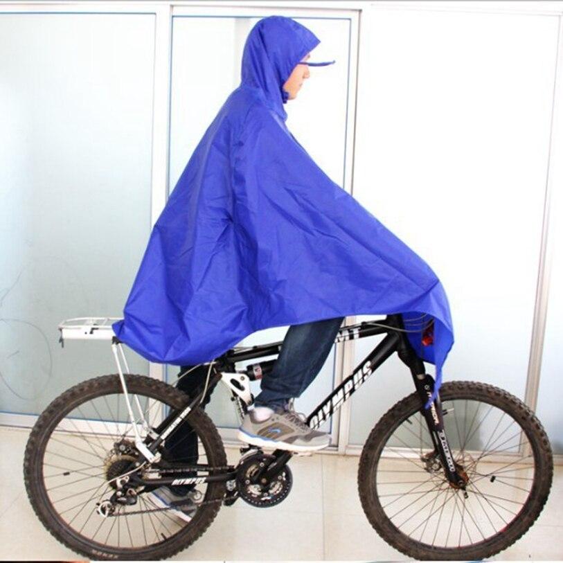 Hot Sale Men Blue Cycling Bicycle Bike Raincoat Rain Cape Poncho