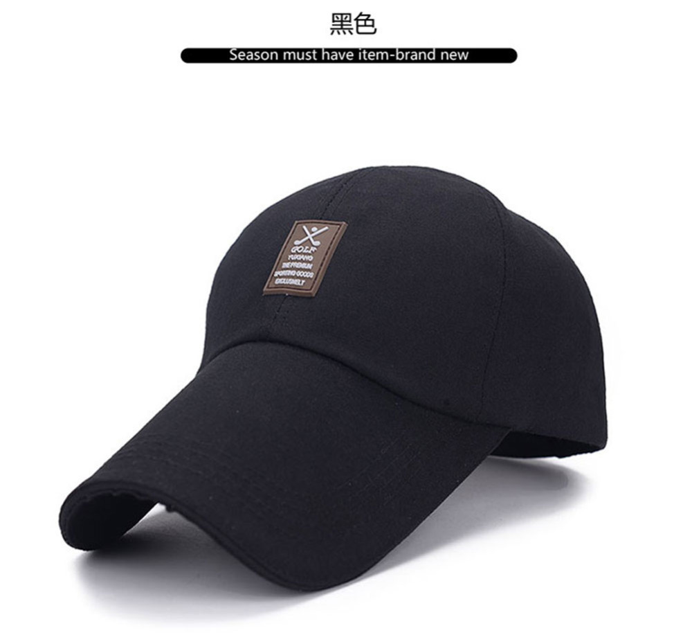 Black Baseball Cap Women Snapback Caps  Outdoor Sport Hats For Men Women Patriot Cap Golf Wholesale