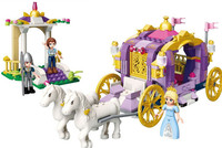 Princess carriage house Building Brick Block Toys Compatible with Legoings Decoration girl gift