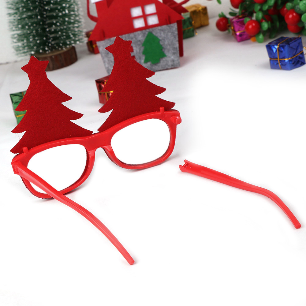 600pcs Christmas Decorations For Home Decor New Year Glasses For Children Santa Claus Deer Snowman Christmas Ornaments Random - 6