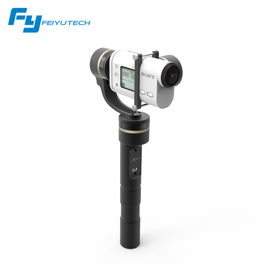 Feiyu Tech  Feiyu G4GS 3 Axis handheld gimbal for Sony AS/FY GS  of Sony AS series brushless gimbal G4 GS gimbal free shipping feiyu tech g4 gs gimbal 3 axis brushless gimbal for sony hdr az1vr fdr x1000v as series sport auction camera