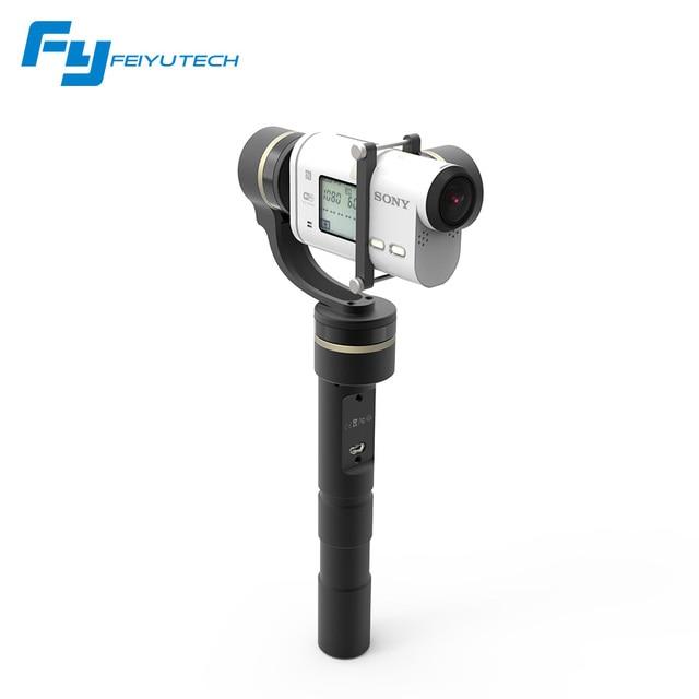 Feiyu Tech  Feiyu G4GS 3 Axis handheld gimbal for Sony AS/FY GS  of Sony AS series brushless gimbal G4 GS gimbal