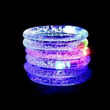 150pcs Lumineux Decoration Armbands Night Reflective Wristband LED Bracelet Glow in the Dark Party Supplies Events