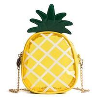 Amasie Новое поступление ананас transparet милые очаровательные кошелек Kawayii Кошелек Высокое качество Маленький милый мешочек EGT9002