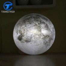 Lámpara LED de decoración de pared, luz nocturna con control remoto de la Luna, Estrella romántica