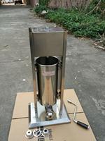 Free shipping 5L Commercial Spanish churrera churro maker filler churros making machine equipment