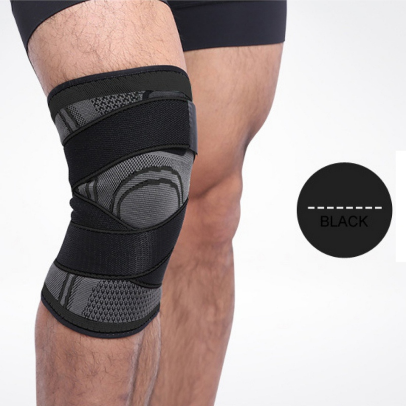 Aolikes Drop Shipping Outdoor Sports Bondage Compression Knee Pads Gym Fitness Leg Protector Nylon Spandex Keen Pad Breathable2