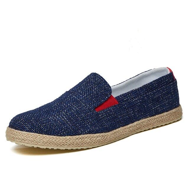 Toile chaussures de vieux Pékin hommes, chaussu...