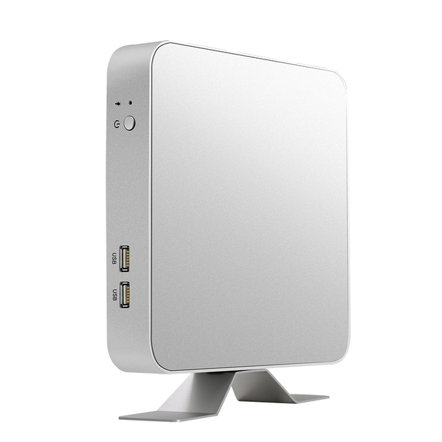 Мини-ПК i7 7500U i5 7200U i3 7100U Windows 10 4 K UHD игровой ПК HDMI HTPC VGA 300 M WiFi Gigabit Ethernet двойное хранилище 2