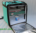 """PK-76G: Pizza Delivery Bags, Heat Insulated Driver Backpack, Thermal Food Boxes, Hamburger Delivery Bags, 16"""" L x 15"""" W x 18"""" H"""