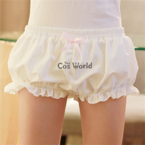 Lolita Sweet Bloomers Underwear Leggings Safety Pants Shorts Cosplay Costumes