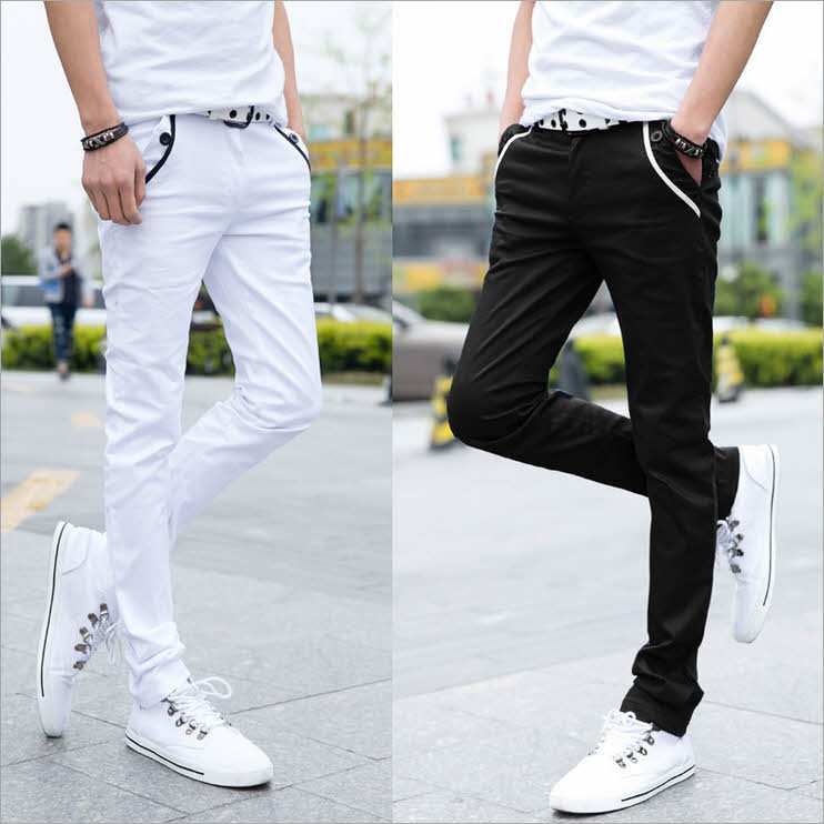 Popular White Casual Pant-Buy Cheap White Casual Pant lots from ...