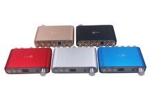HIFI Bluetooth 4.2 DSP 80W + 40WX2 dijital güç amplifikatörü 2.1 kanal Stereo ses Subwoofer amplifikatör kurulu bas Amp