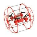 Mi sky walker dron 2.4g 4ch 6 eixo em forma de bola protetor de Vôo e Execução de Controle Remoto Quadcopter RC Drone Mini helicóptero