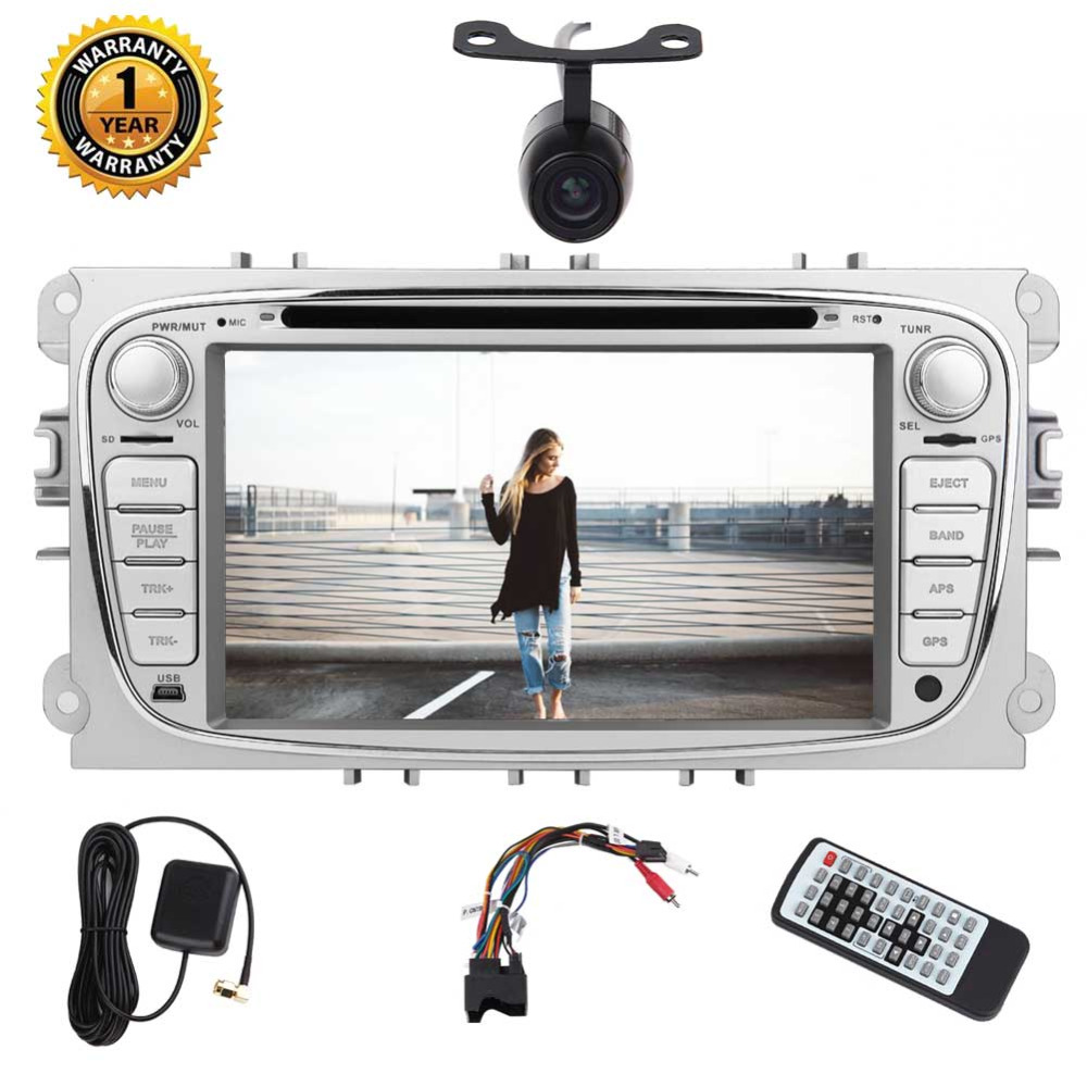 Eincar For Ford Focus Car dvd Stereo Double din GPS Navigation Android 7 1 system Stereo